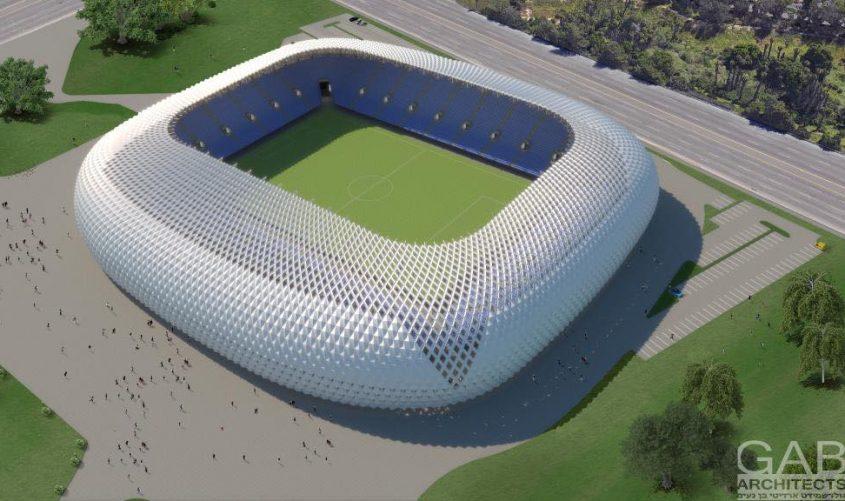 אצטדיון הכדורגל החדש שייבנה באשדוד. הדמיה: גולדשמיט ארדיטי בן נעים