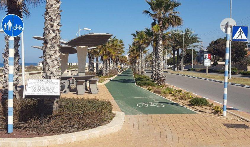 מסלול רכיבה על אופניים. צילום: עיריית אשדוד