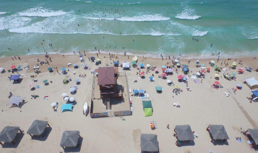 חוף הים באשדוד. צילום: עיריית אשדוד