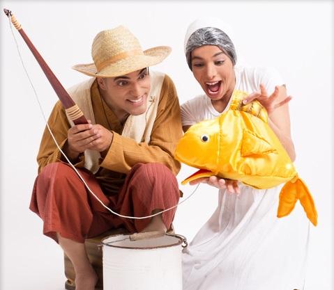 """הדייג ודג הזהב - תאטרון הילדים הישראלי. יח""""צ"""