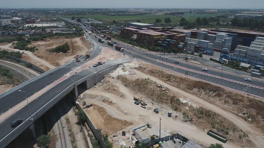 """מערכת הכבישים החדשה. צילום: באדיבות חנ""""י"""