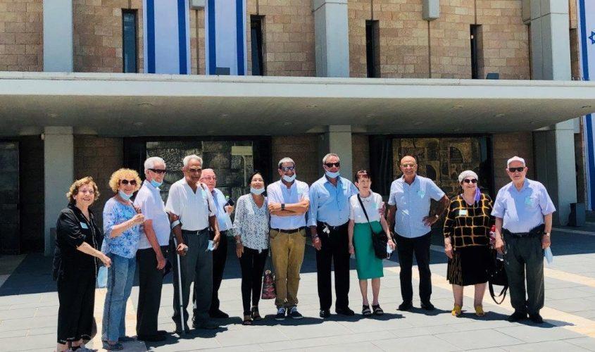יקירי העיר בכנסת. צילום: מזי כהן, דוברות העירייה