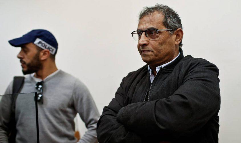 ארנון גלעדי בעת מעצרו. צילום: מגד גוזני
