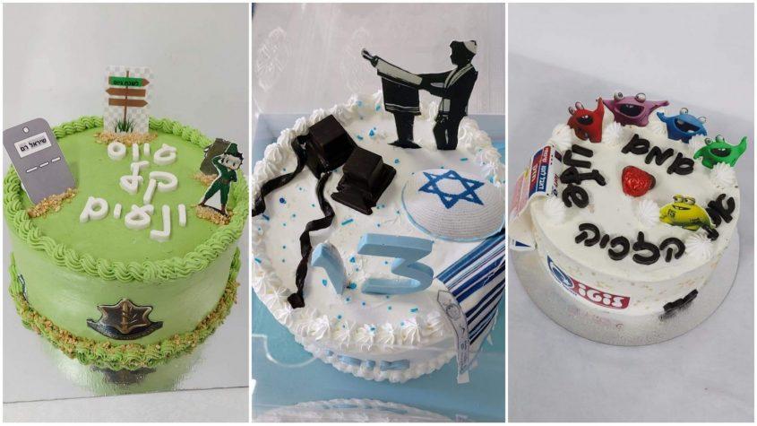 עוגות שהכינה ריימונד ברכה