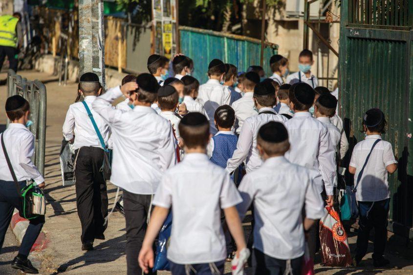 תלמידי החינוך העצמאי. צילום: אמיל סלמן