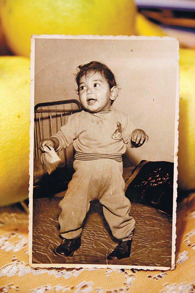 דניאל אשדוד רוימי בילדותו. צילוםרפרודוקציה: פבל