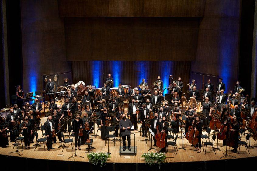 התזמורת הסימפונית ירושלים. צילום: אבינה קולן