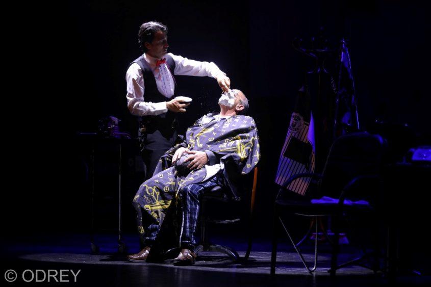 אריק משעלי מספר את אבי ביטון. צילום: odrey-לירון מולדובן