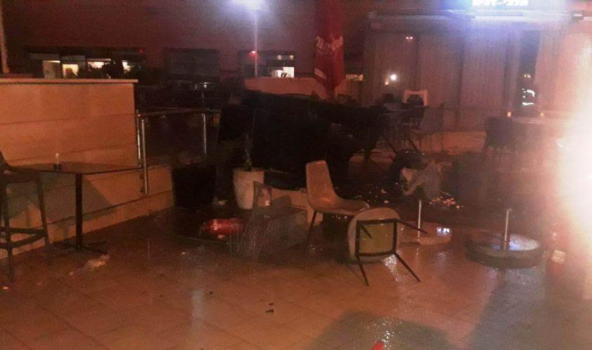השריפה במסעדה במלון לאונרדו. צילום: תיעוד מבצעי כבאות והצלה