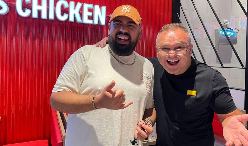 סמיון, גל זהבי ודניאל עמית: פתיחה חגיגית של KFC באשדוד