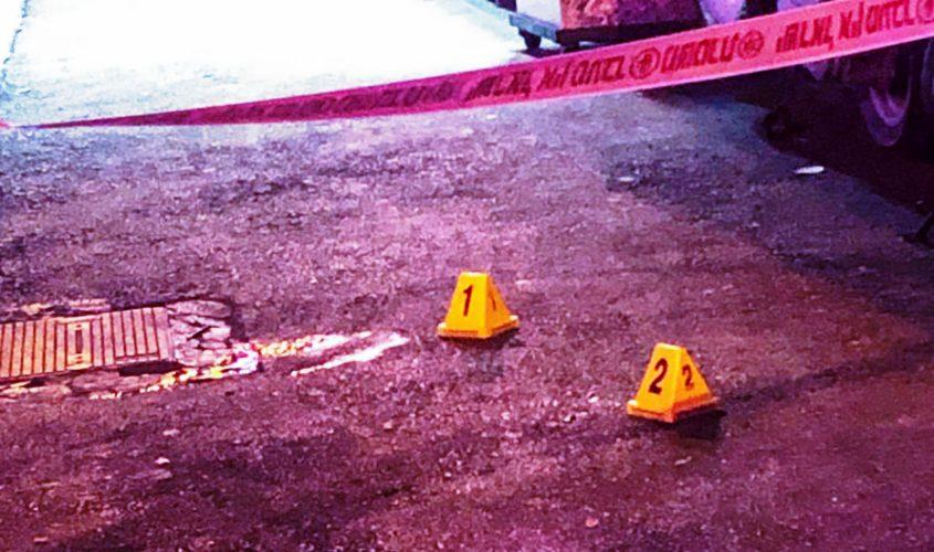 זירת ירי. צילום ארכיון: דוברות המשטרה