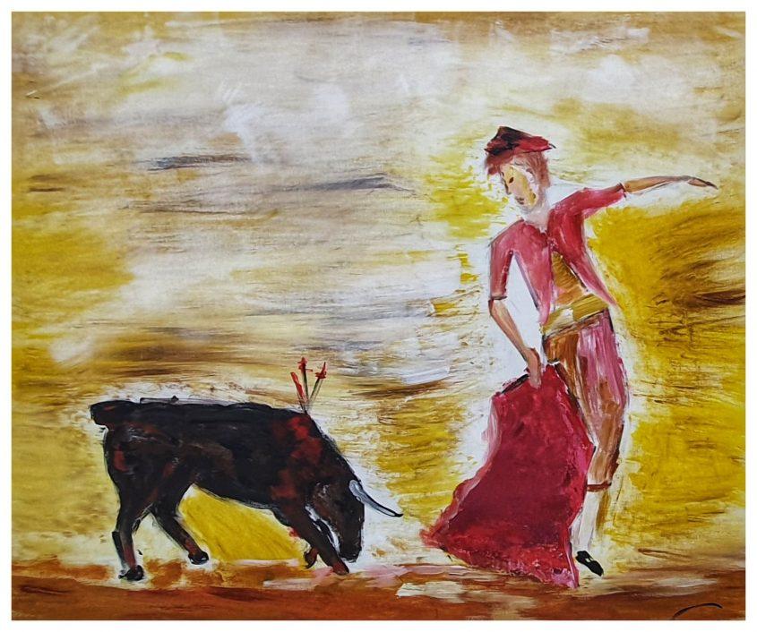 ציור של דניאל אסולין